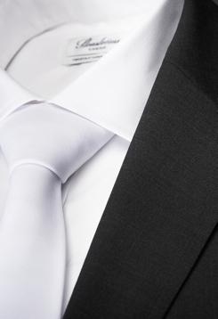vit slips bröllop